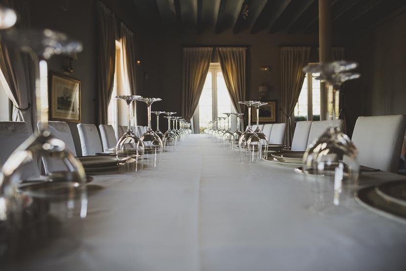 Una de las salas de la planta superior del Restaurante Oriza